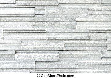 The white modern wall