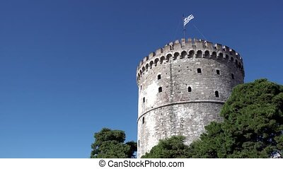 White Tower in Thessaloniki - The White Tower in...