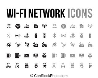 Wifi network vector icon for app and mobile website responsive
