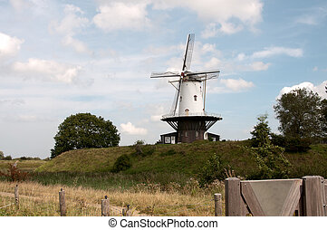 the windmill from Veere in Holland