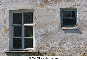 The window of old house