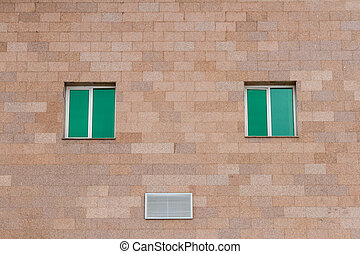 The windows in the wall