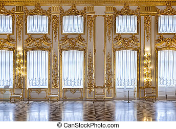 The windows of the hall of gold - Windows ballroom of the...