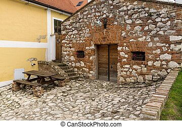 The wine cellar, Moravia, Wine