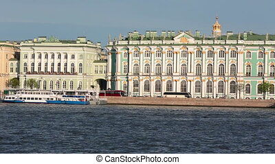 The Winter Palace was the official residence of the Russian monarchs, now the the State Hermitage museum.