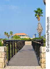 The Wishing Bridge in Jaffa
