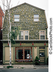 The Witchs Brew Cafe, in Salem, Massachusetts