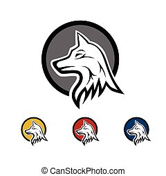 The wolf as an icon