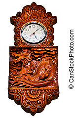 The Wooden clock