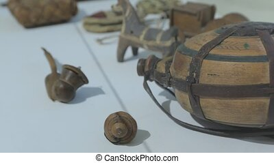 The Wooden Flask - The ancient wooden flask for wine water