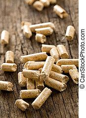 wooden pellet .ecological heating - the wooden pellet...