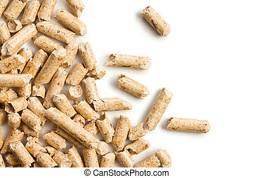 wooden pellet .ecological heating