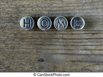 """the word """"HOME"""""""