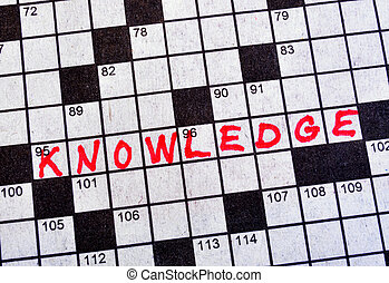 The Word Knowledge on Crossword Puzzle
