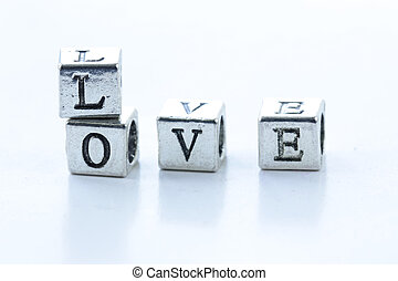 """the word """"LOVE"""""""