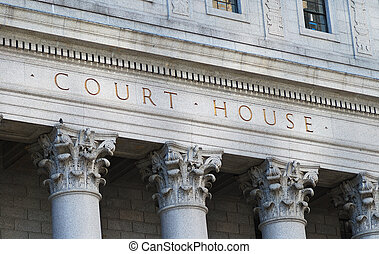 Court House - The words Court House outside the Supreme...