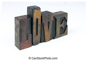 The words love