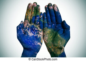 The world in your hands earth map furnished by nasa a world map in the world in your hands earth map furnished by nasa gumiabroncs Image collections