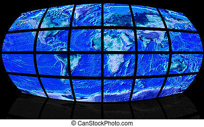 The world on screen