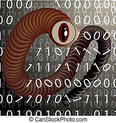 The worm spy - A virus attacking the data stored on a...