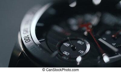 the wrist watch close up