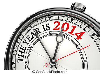 the year is 2014