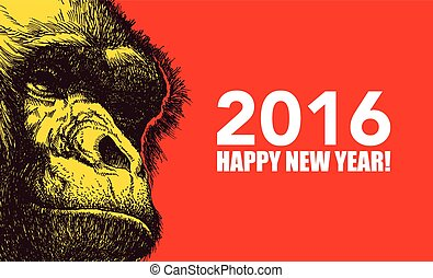 The year of monkey.