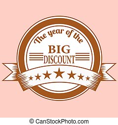 the year of the big discount stamp
