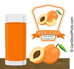 The yellow apricot