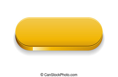 The yellow glossy button