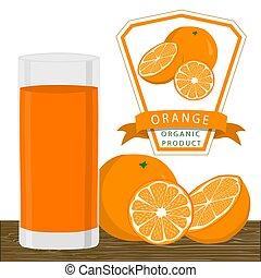 The yellow orange