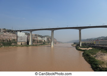 The Yellow River in China