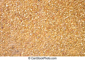 Yellow Wall Cement, Background Texture