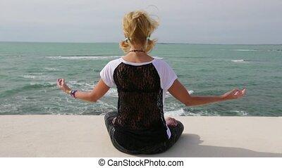 the Yoga meditation