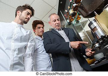 the young baristas
