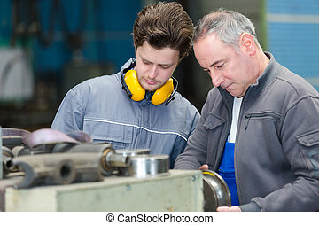 the young machinist