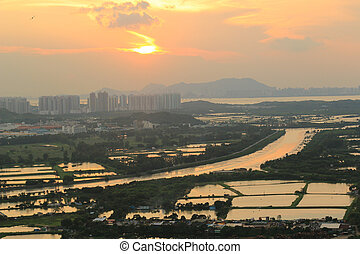 Yuen Long district, shooting at Kai Kung Leng - the Yuen...