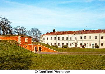 The Zamojski Academy in Zamosc, Poland.