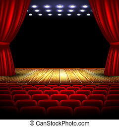 theater, this illustration may be useful as designer work