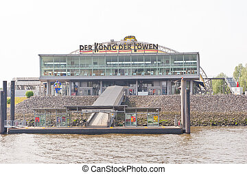 Theater im Hafen - Theater in the port of Hamburg is a...