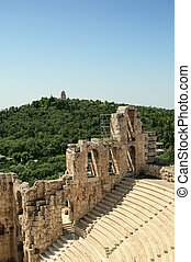 Theater of Herod Atticus in Athens.