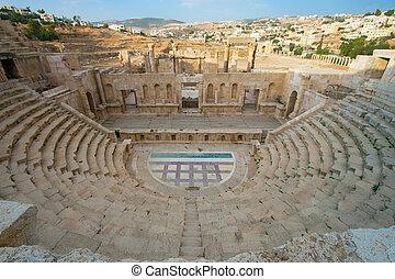 Theater of Jerash, Jordan