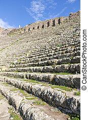 Theater of Pergamon in Turkey