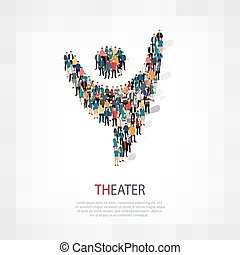theater people  symbol