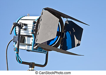 Theater reflector - Reflector in an outdoor theater with...