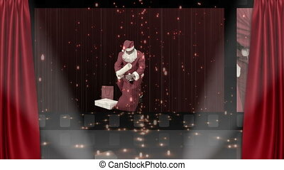 Theater screen animation - Theater and Christmas animation...