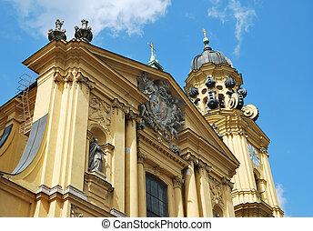 Theatine Church in Munich