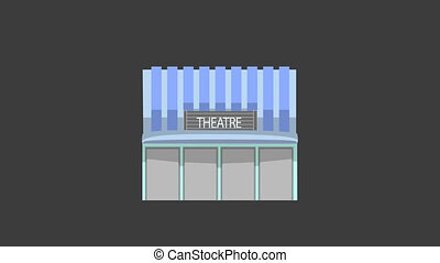 Theatre Building Animation
