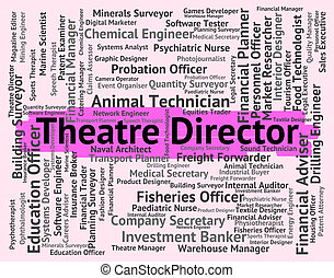 Theatre director Stock Illustrations. 1,161 Theatre ...
