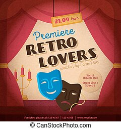 Theatre Poster Illustration